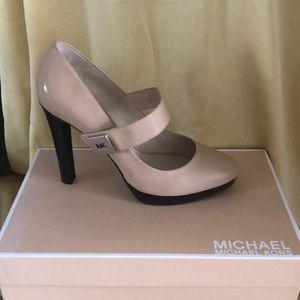 Nude Micheal Kors Shoe